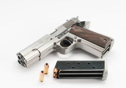 Arsenal Firearms 2011 Double Barrel .45