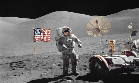 Image result for moon landing fake