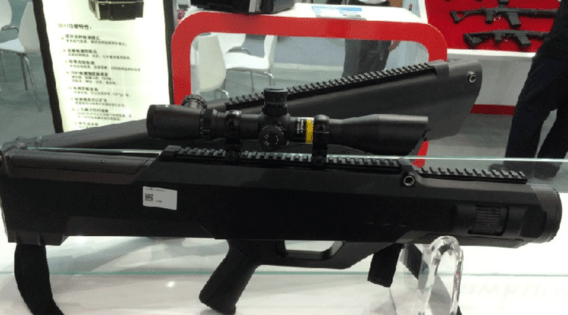 China Has New Laser-Powered Rifle That Can LITERALLY Set You