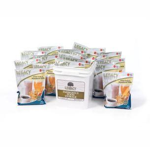 160 Serving Legacy Foods Powdered Milk Bucket