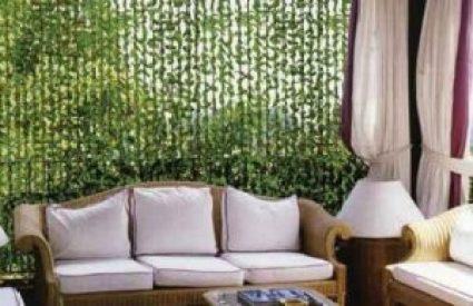 шторы из листиков
