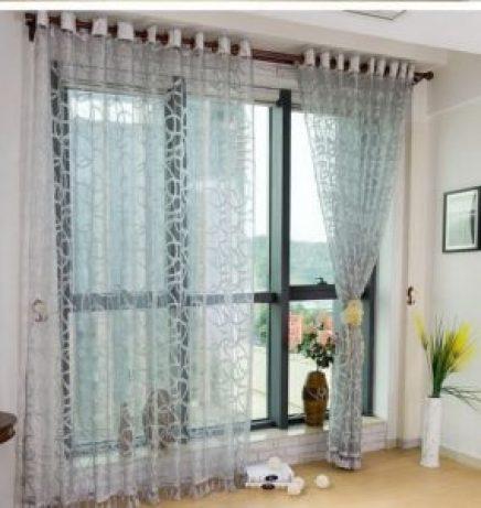 Органза шторы фото