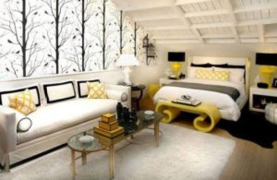 Комната без окна шторы дизайн