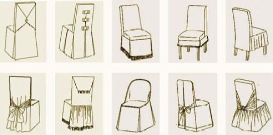 Дизайн чехла на стул