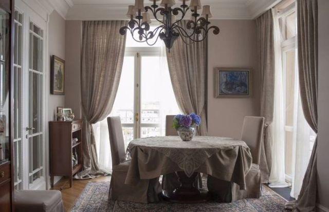Элитные шторы в салоне в Санкт-Петербурге