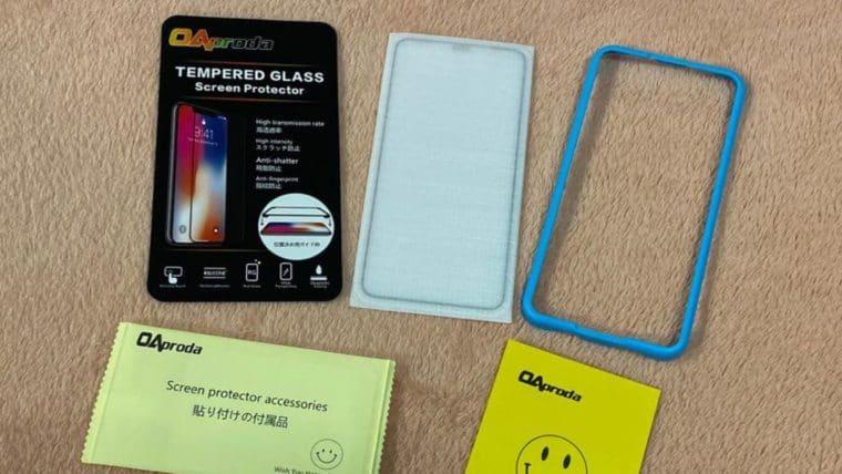 OAproda iPhone 11 Pro Max 全面保護ガラスフィルム