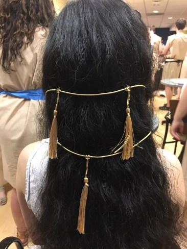 Charmian's hairdo