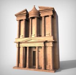 Petra (Al Khazneh or The Treasury)