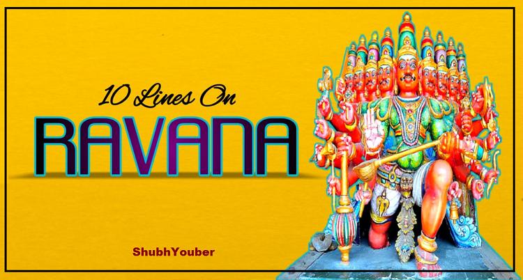 10 Lines Essay on Ravana