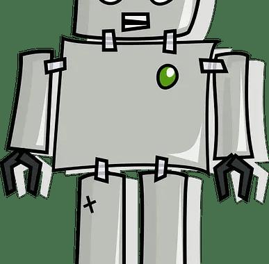 robot cartoon image