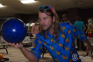 Josh Bickley might actually have a career as a professional bowler. / Photo by Parker Conley