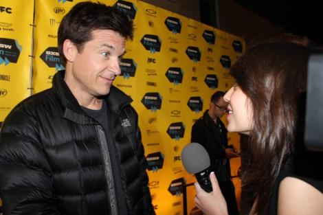 """Olivia Suarez interviewed director/actor Jason Bateman for his debut film """"Bad Words"""" last year at SXSW for """"Sneak Peek."""" Photo provided by Olivia Suarez."""