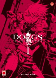 The first volume of Dogs: Bullets and Carnage by Shirow Miwa. Courtesy of Manga-News.com.