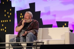 """Game of Thrones""' Kristian Nairn (aka Hodor) speaks at Alamo City Comic Con about Jon Snow, Hodor, his DJing, and embarrassing moments. Photo by Catherine Gutierrez"