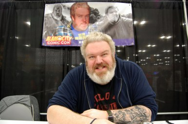 """Game of Thrones""'s Kristian Nairn (Hodor). Photo by ChinLin Pan"