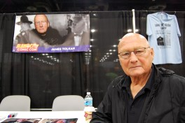 """Back to the Future"" actor James Tolkan. Photo by ChinLin Pan"