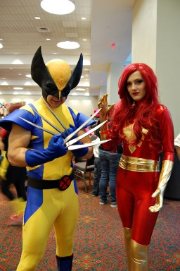 Wolverine and Jean Grey