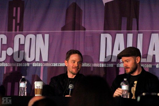 """X-Men""'s Shawn Ashmore and ""Killjoy""'s Aaron Ashmore spoke at their panel on Sunday, Oct. 18 at the Dallas Comic Con Fan Days at Irving Convention Center."