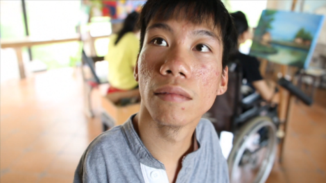 """""""Chau, Beyond the Line,"""" a documentary short directed by Courtney Marsh, won the Documentary Short award at 22nd annual Austin Film Festival on Saturday, Oct. 31. / Beyond the Lines Film"""