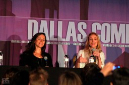 """Two stars from the hit Canadian fantasy sci-fi drama """"Lost Girl""""---Anna Silk and Zoie Palmer---answered spoiler-free questions at their panel on Sunday, Oct. 18."""