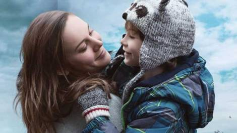 "Brie Larson and Jacob Tremblay in ""Room."" / A24"
