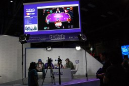 Twitch gaming stage / Photo by ChinLin Pan