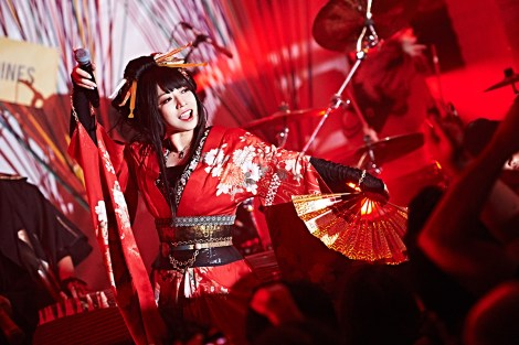 Wagakki Band's Yuko Suzuhana / Photo courtesy of Avex Group