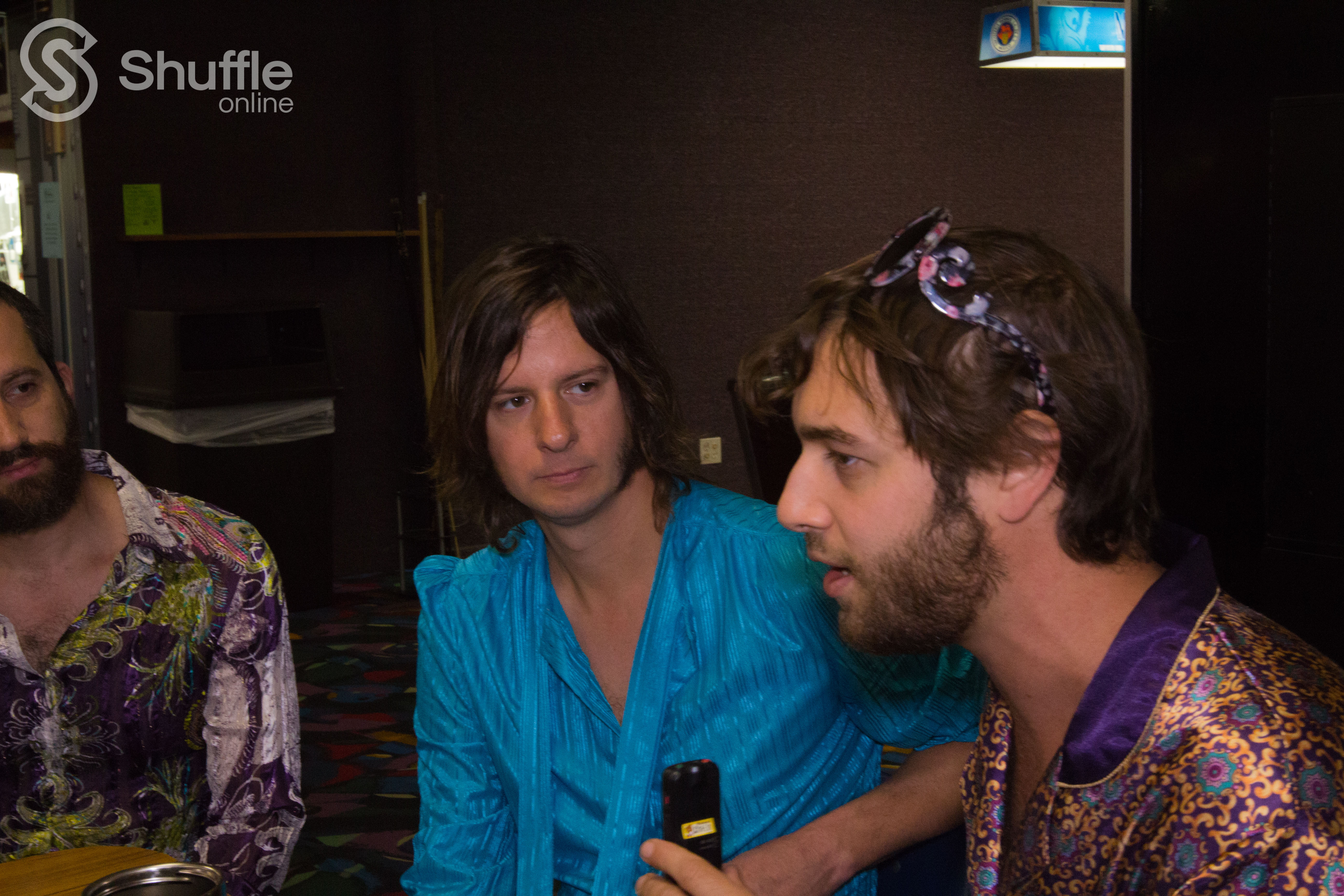 Craig Finkelstein, Matt Roth, and Chris Webb answer the tough questions. / Photo by Parker Conley