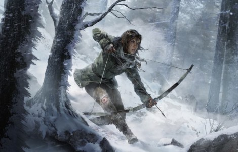 Lara Croft in Rise of the Tomb Raider (2015) / Photo courtesy of Square Enix and Crystal Dynamics