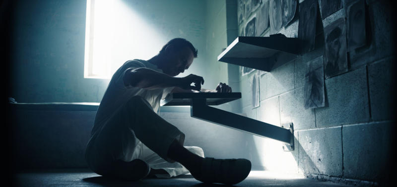 Callum Lynch (Michael Fassbender) tries to make sense of his incredible experiences. Photo Credit: Courtesy Twentieth Century Fox.