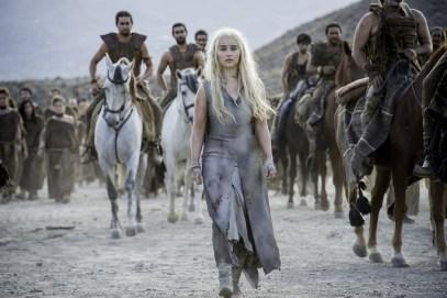 Emilia Clarke as Daenerys Targaryen. Photo- Macall B. Polay:HBO