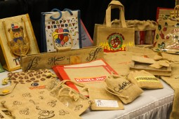 Baskets-N-Bags had a variety of cool and creative bags.