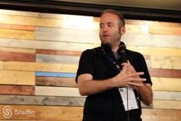 Moderator Jarett Wieselman / Photo by ChinLin Pan
