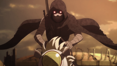 """Death Gun, the antagonist of the first arc of """"Sword Art Online II: Gun Gale Online"""" / Image courtesy of A-1 Pictures and Aniplex USA"""