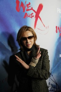 "Yoshiki seen at The Los Angeles Premiere ""We Are X"" on Monday, October 03, 2016, in Los Angeles, CA. / Photo by Eric Charbonneau/Invision for Drafthouse Films/AP Images"