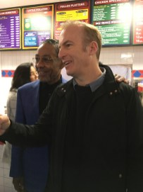 Giancarlo Esposito and Bob Odenkirk / Photo credit: Catherine Gutierrez