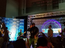 Mega Ran performing