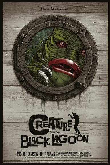Creature From The Black Lagoon by Gary Pullin | Photo courtesy of Mondo