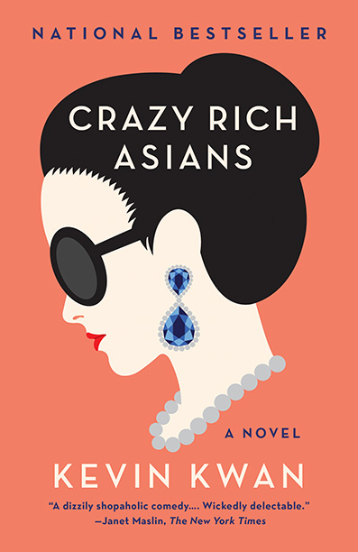 """Novel cover of """"Crazy Rich Asians"""" by Kevin Kwan"""
