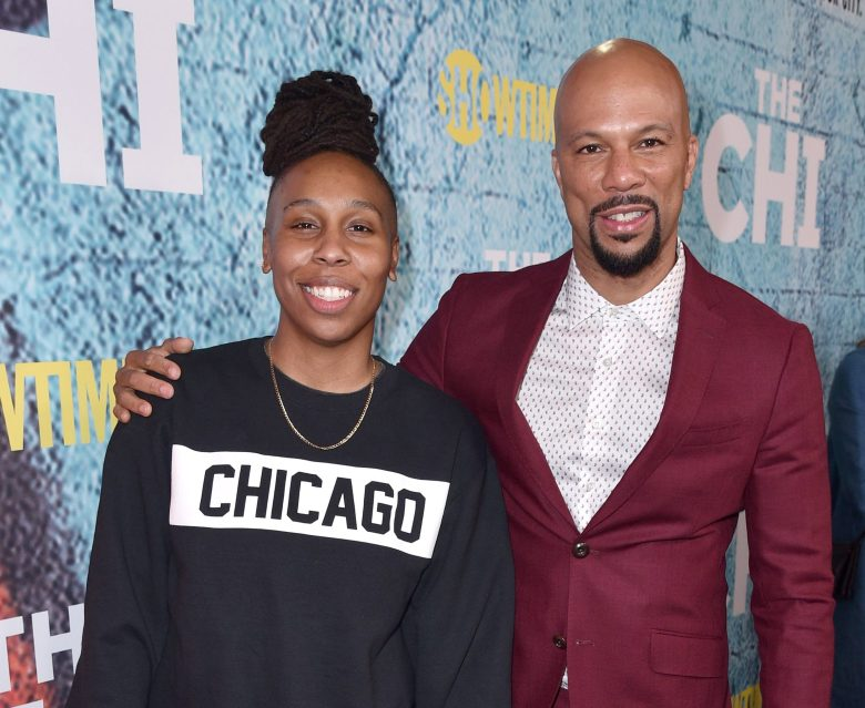 Lena Waithe and Common