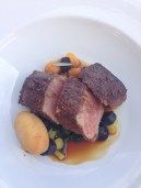 Lamb from Terroir Restaurant at Craggy Range