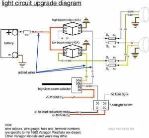 Vanagon – headlight relay upgrade   shooftie