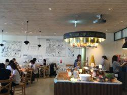横浜 マリンアンドウォークスヌーピーカフェ みなとみらい
