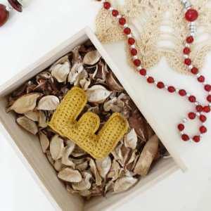 Crochet Letter E