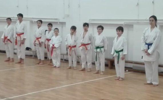 karate pentru copii