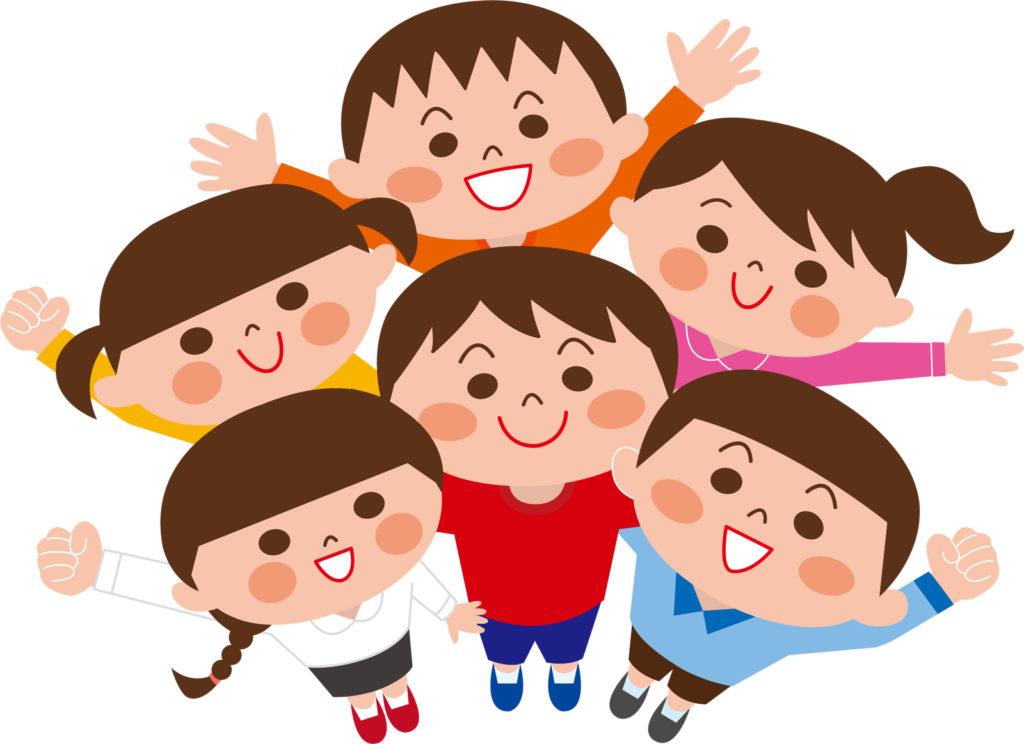 幼稚園児子供たち