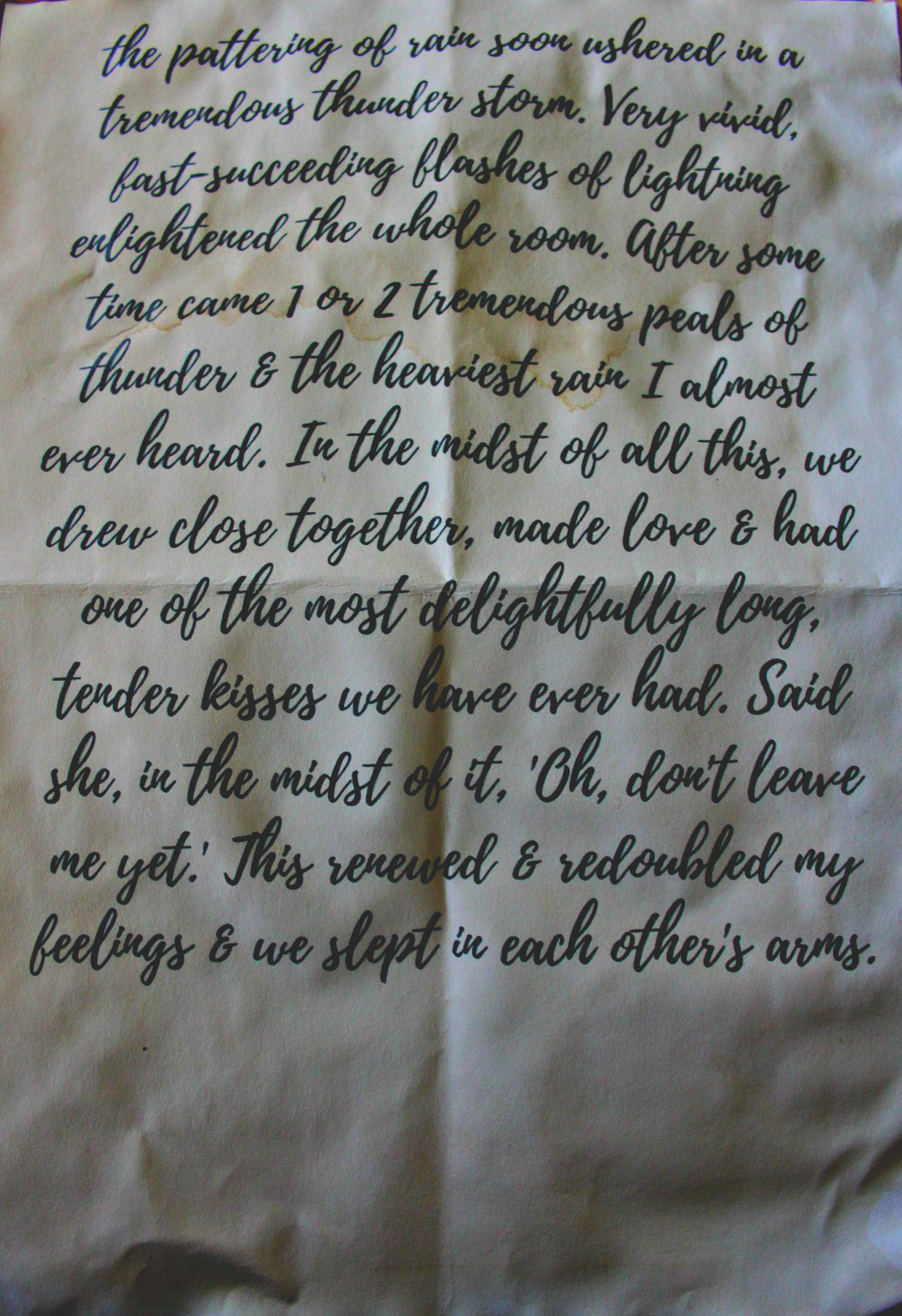 Various 19th Century Love Letters Part Two Shuil Writes