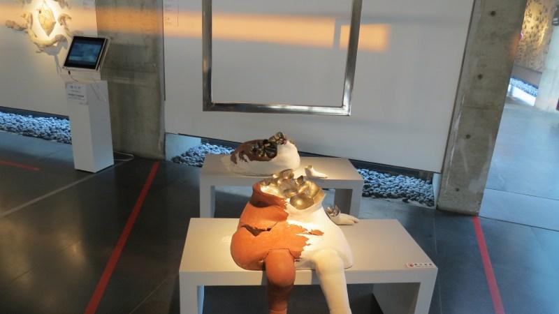 展覽作品「二分鏡像」。攝影/蘇子雁