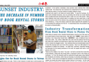 Sunset Industry: Decrease in Number of Book Rental Stores