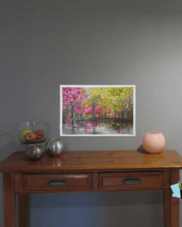 Fall Nostalgia 1 – New Oil Painting